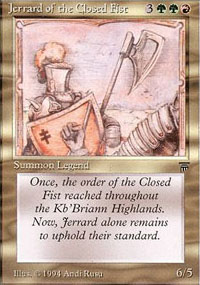 Jerrard of the Closed Fist -