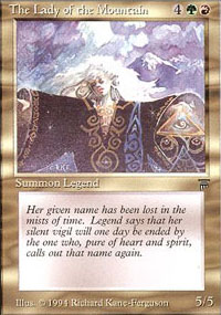 The Lady of the Mountain - Legends