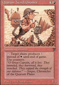 Quarum Trench Gnomes - Legends