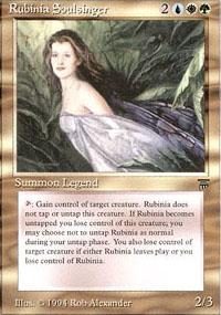 Rubinia Soulsinger - Legends