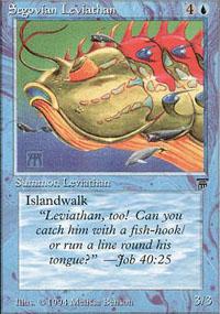 Segovian Leviathan - Legends