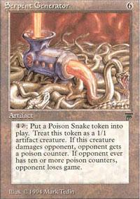 Serpent Generator - Legends
