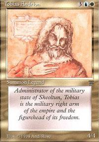 Tobias Andrion - Legends