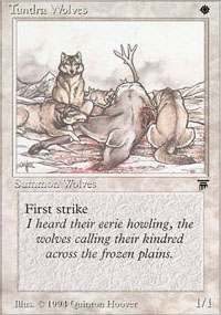 Tundra Wolves - Legends