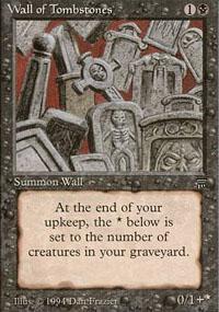 Wall of Tombstones - Legends
