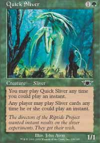 Quick Sliver - Legions