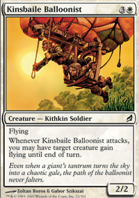 Kinsbaile Balloonist - Lorwyn