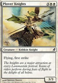 Plover Knights - Lorwyn