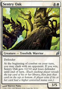 Sentry Oak - Lorwyn