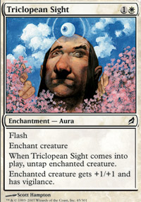 Triclopean Sight - Lorwyn