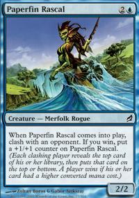 Paperfin Rascal - Lorwyn