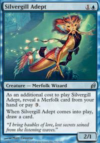 Silvergill Adept - Lorwyn