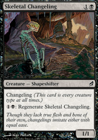 Skeletal Changeling - Lorwyn