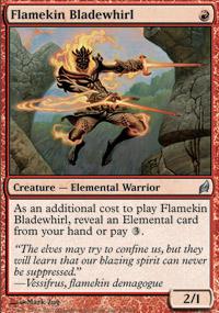 Flamekin Bladewhirl - Lorwyn