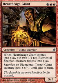 Hearthcage Giant - Lorwyn
