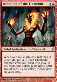 Rebellion of the Flamekin - Lorwyn