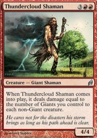 Thundercloud Shaman - Lorwyn
