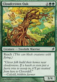 Cloudcrown Oak - Lorwyn