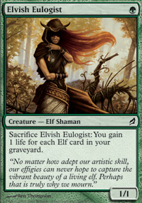 Elvish Eulogist - Lorwyn