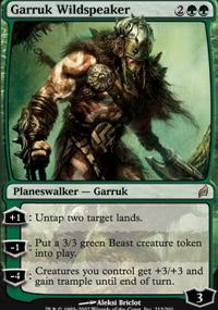 Garruk Wildspeaker - Lorwyn