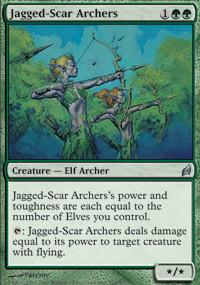 Jagged-Scar Archers - Lorwyn
