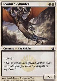 Leonin Skyhunter - Mirrodin Besieged