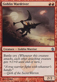 Goblin Wardriver - Mirrodin Besieged