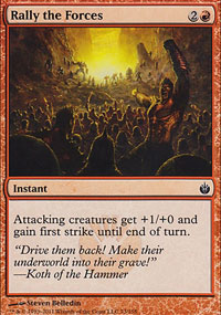 Rally the Forces - Mirrodin Besieged