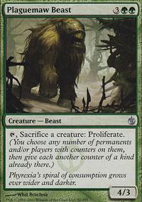 Plaguemaw Beast - Mirrodin Besieged