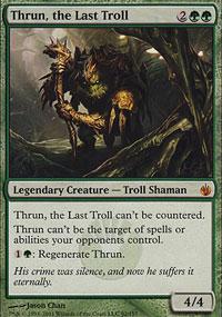 Thrun, the Last Troll - Mirrodin Besieged