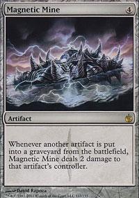 Magnetic Mine - Mirrodin Besieged