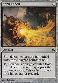 Shriekhorn - Mirrodin Besieged