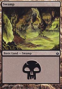 Swamp 1 - Mirrodin Besieged