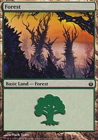 Forest 2 - Mirrodin Besieged