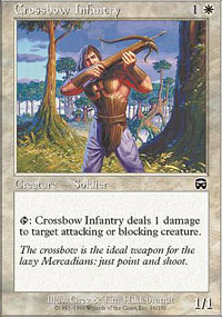 Crossbow Infantry - Mercadian Masques