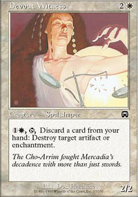 Devout Witness - Mercadian Masques