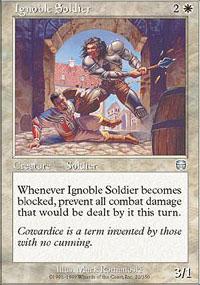 Ignoble Soldier - Mercadian Masques