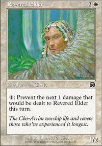Revered Elder - Mercadian Masques