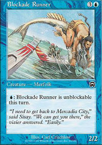 Blockade Runner - Mercadian Masques