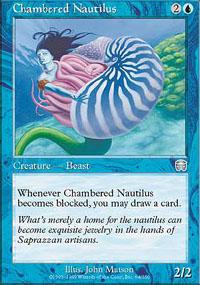 Chambered Nautilus - Mercadian Masques