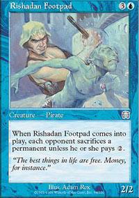 Rishadan Footpad - Mercadian Masques