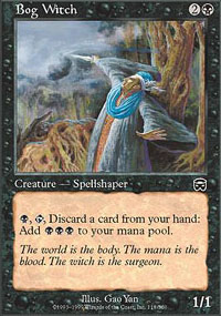 Bog Witch - Mercadian Masques