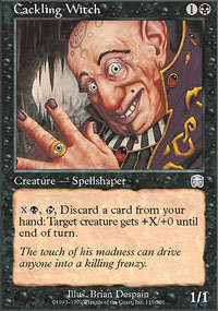 Cackling Witch - Mercadian Masques