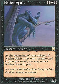 Nether Spirit - Mercadian Masques
