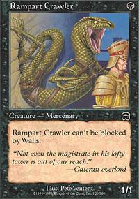 Rampart Crawler - Mercadian Masques