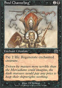 Soul Channeling - Mercadian Masques