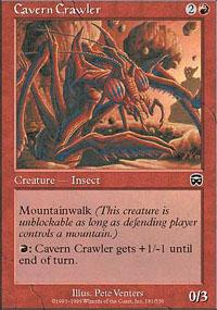 Cavern Crawler - Mercadian Masques