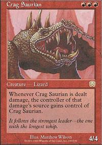 Crag Saurian - Mercadian Masques