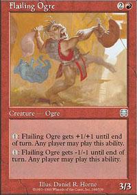 Flailing Ogre - Mercadian Masques