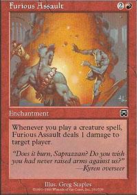 Furious Assault - Mercadian Masques
